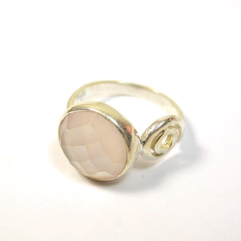 Bijoux Argent Quartz Rose : Bageu argent et quartz rose bijoux m?t b
