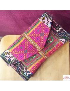 Pochette hippie chic Gujarat