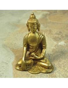 Bouddha en métal doré