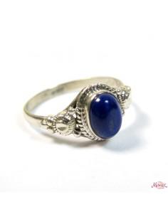 Bague argent et lapis lazuli T59