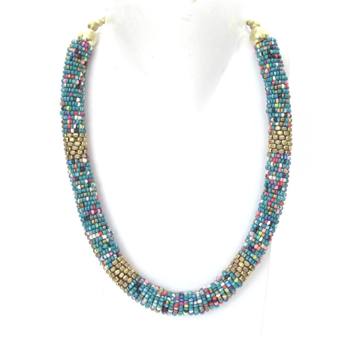 colliers en perles fines bleues bijoux et colliers de