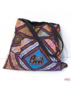 sac large patchwork éléphant