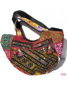 gros sac tissus patchwork