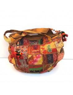 gros sac en tissus indiens patchwork