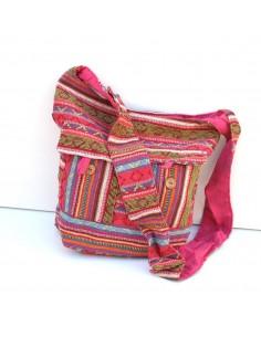 sac en coton à bandoulière
