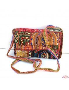 sac à main brodé Gujarat
