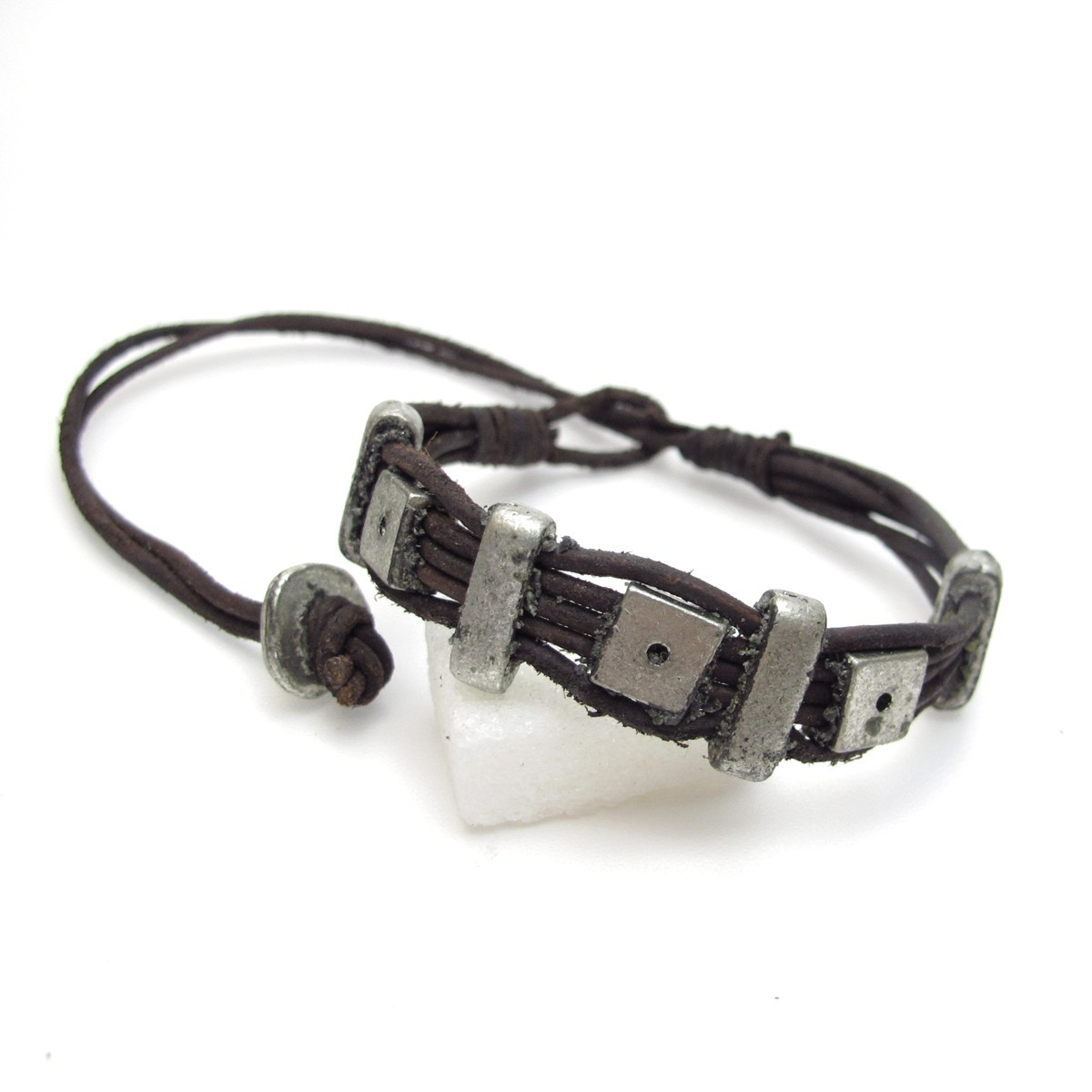 bracelet cuir homme bijoux pour hommes bf11. Black Bedroom Furniture Sets. Home Design Ideas