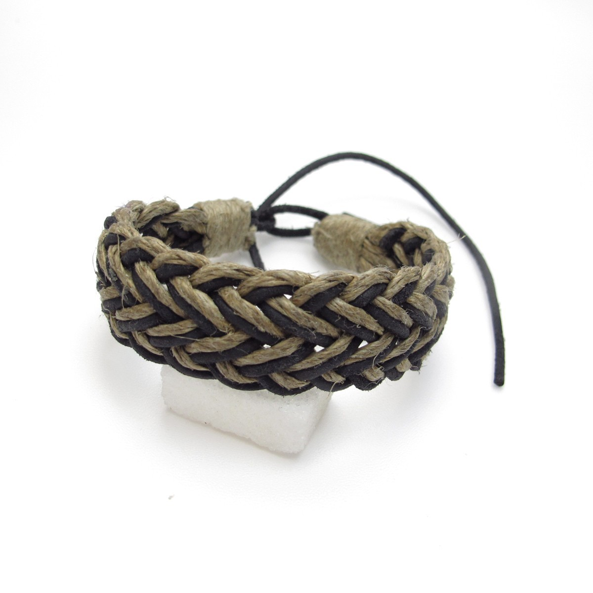 bracelet homme cuir et fil bijoux en cuir bf12. Black Bedroom Furniture Sets. Home Design Ideas
