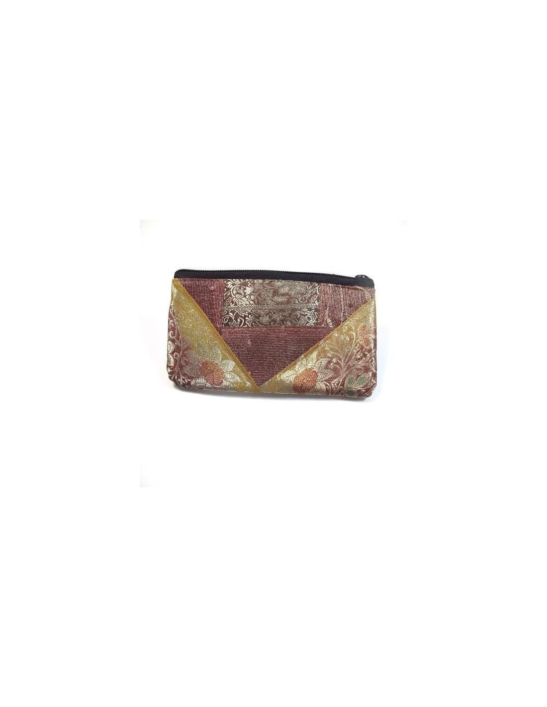 Porte monnaie boutique d 39 accessoires indiens a63 - Porte monnaie en tissu ...