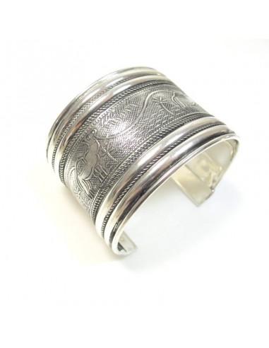 bracelet argenté motif chameau
