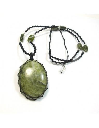 Collier v sonite pendentif pierre naturelle cp37 - Comment nettoyer un bijou en argent ...