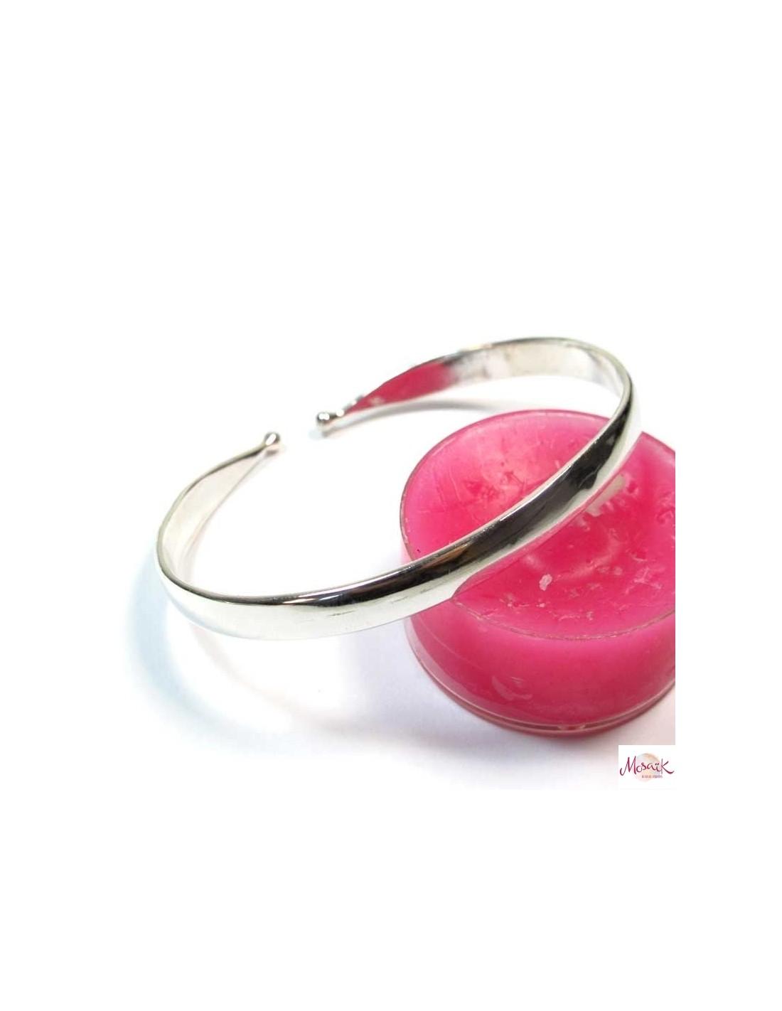 Bracelet en argent joncs en argent br69 - Comment nettoyer un bijou en argent ...