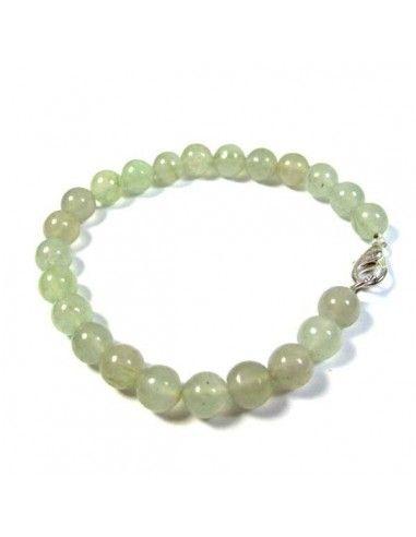 bracelet jade perles rondes 5mm
