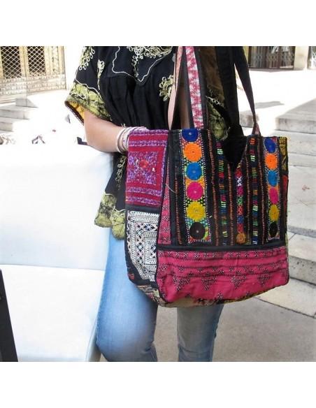Grand sac coloré