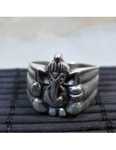 bague argent Ganesh