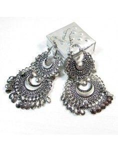 Grandes boucles d'oreilles Bollywood