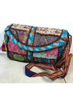 Petit sac à main turquoise