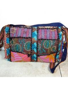 Pochette bandoulière ethnique colorée - Mosaik bijoux indiens 2