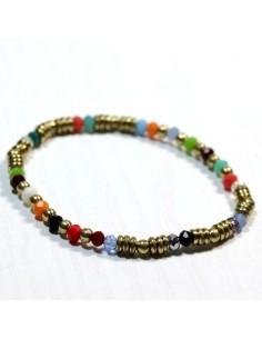 Bracelet élastique coloré
