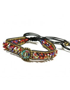 Bracelet coulissant coloré