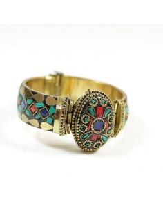 Gros bracelet coloré
