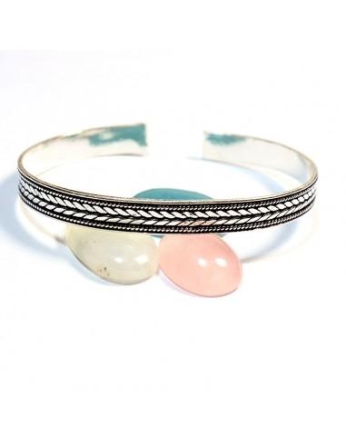 Bracelet motif laurier