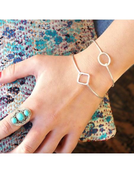 Bracelet fin en argent