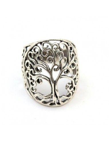 bague en argent arbre de vie