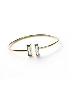 Bracelet fin laiton et...