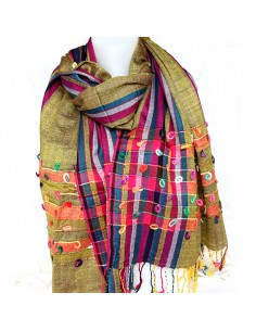 Large foulard coloré