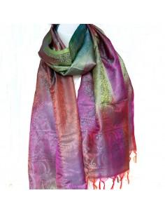 Foulard fin multicolore