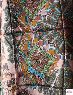 Carré de soie motifs... 2