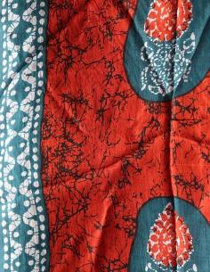 Foulard en soie ethnique 2