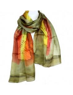 06da517f344 Foulards en soie fins et colorés indiens