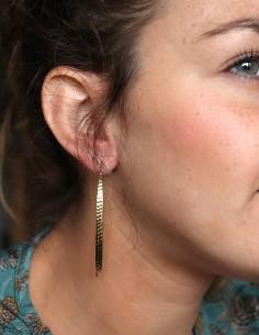 Boucles d'oreilles fine en... 2