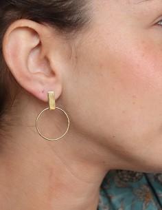 Boucles d'oreilles rondes 2