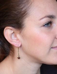 Boucles d'oreilles laiton... 2