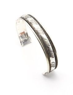 Bracelet métal argenté... 2