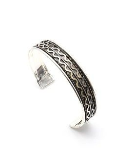 Bracelet métal argenté...