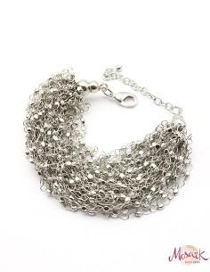 Gros bracelet chaines