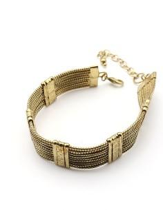Bracelet maille serpent
