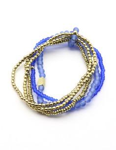 Bracelet fantaisie 5 rangs