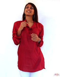 Longue chemise indienne...