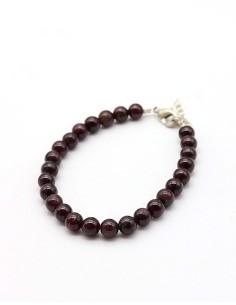 bracelet grenat perles...