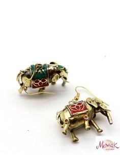 Boucles d'oreilles éléphant...