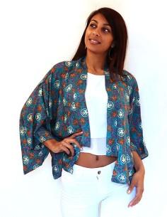 Kimono indien coloré