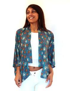 Kimono indien coloré 2