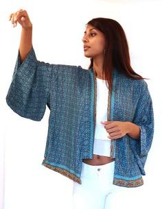 Kimono soie et polyester... 2