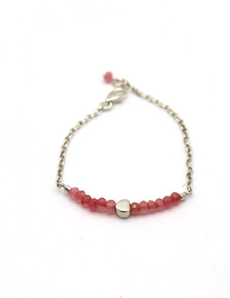 bracelet argent fille