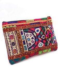 Pochette de sac ethnique